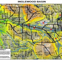 Inglewood Basin Aerial Map